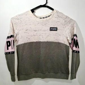 Victoria Secrets PINK CrewNeck Sweatshirt Womens L